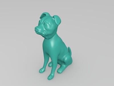 3D打印傲气狗-3d打印模型