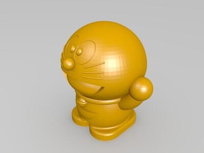 哆啦A梦-3d打印模型