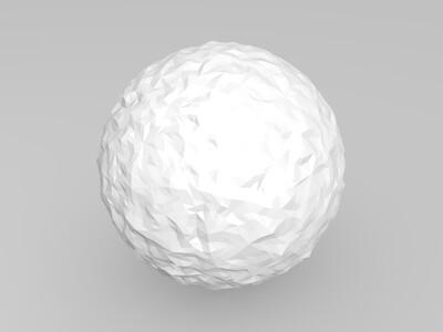 链球菌-3d打印模型