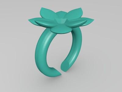 时尚戒指3258-3d打印模型