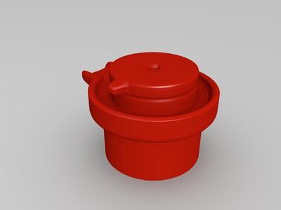 石磨-3d打印模型