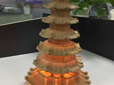 玲珑宝塔-3d打印模型