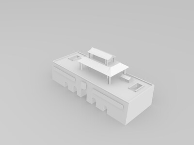 天安门广场-3d打印模型