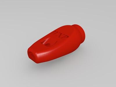 可定制腔体的哨子-3d打印模型