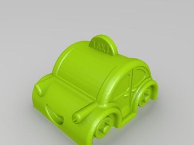汽车-3d打印模型