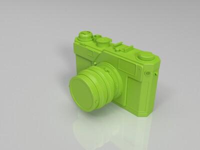 照相机-3d打印模型