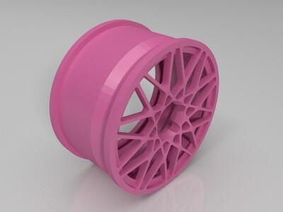 轮毂1-3d打印模型