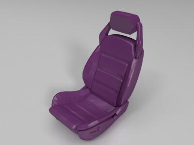 汽车座椅-3d打印模型