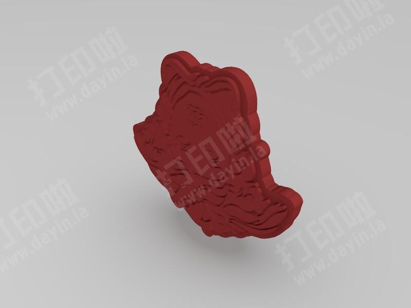 蛇发女妖美杜莎-3d打印模型
