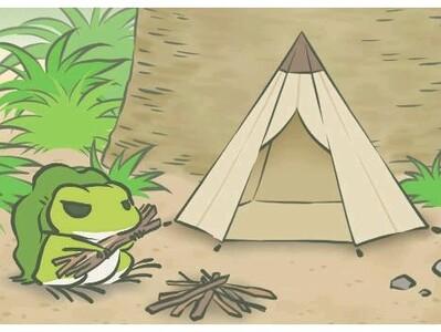 旅行青蛙5-3d打印模型