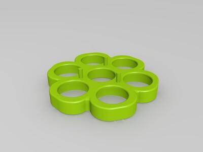 拇指陀螺-3d打印模型