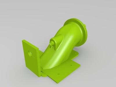 模型船推进器-3d打印模型