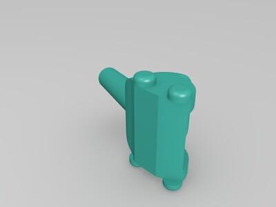 小炮-3d打印模型