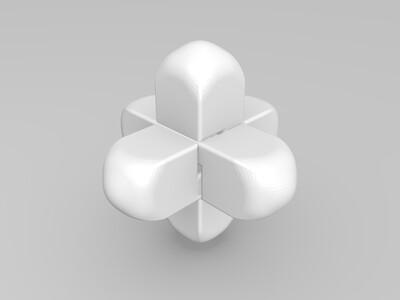 练心锁之守护-3d打印模型