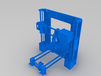 mini    i3打印机模型-3d打印模型