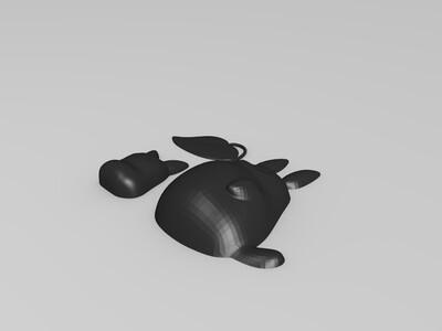 龙猫-3d打印模型