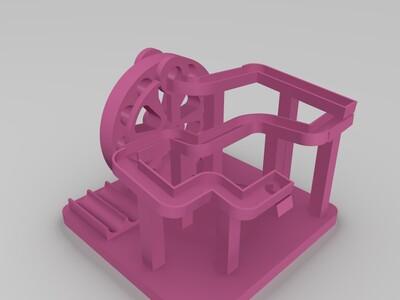 全套循环弹珠玩具-3d打印模型