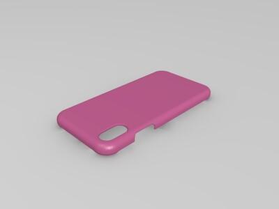 iphonex-3d打印模型