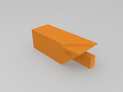 粽角榫-3d打印模型