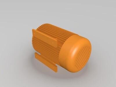 工业用电机-3d打印模型