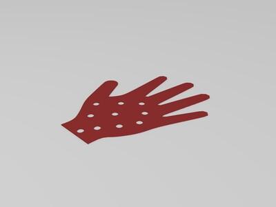 手掌矫正器-3d打印模型