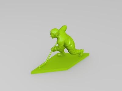 冰球英豪-3d打印模型
