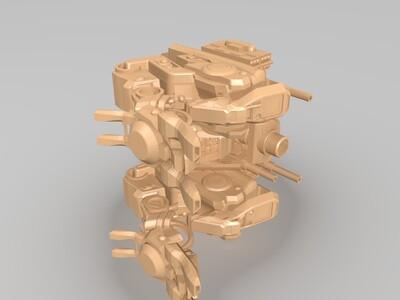 机器人002-3d打印模型