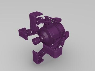 机器人003-3d打印模型
