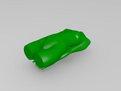 女人体-3d打印模型