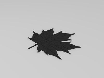 枫叶-3d打印模型