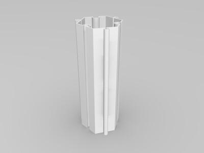 无限扩展笔筒-3d打印模型