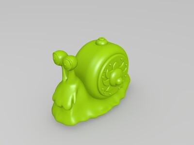万里阳光号-电话虫-3d打印模型