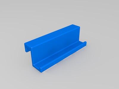 笔记本电脑手机支架-3d打印模型