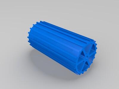 磁辊模型-3d打印模型