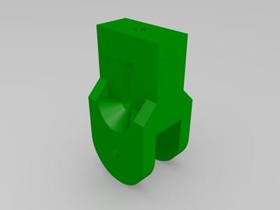 k800皮带松紧调节块-3d打印模型