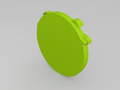 滑稽钥匙扣-3d打印模型