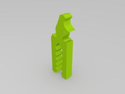 鳄鱼夹子-3d打印模型