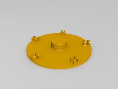 风向泡泡机-3d打印模型
