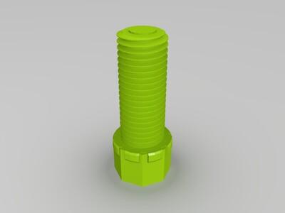 螺丝杆-3d打印模型