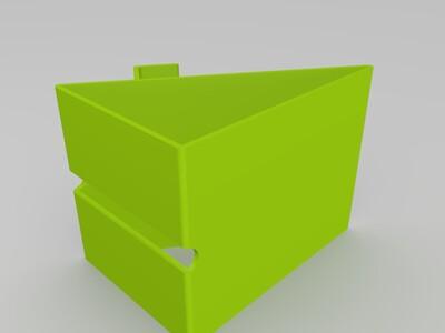 充电式手机支架-3d打印模型