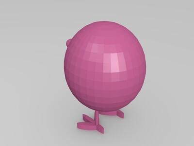 小鸡-3d打印模型
