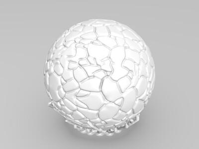 地爆天星-3d打印模型