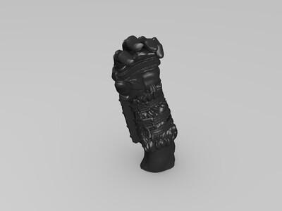 风暴英雄  萨尔  高精模  分割版-3d打印模型