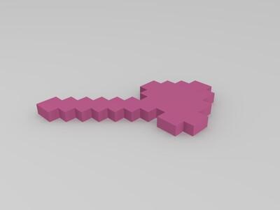Minecraft-3d打印模型