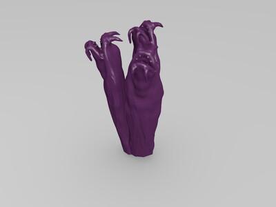 怪物嘴巴-3d打印模型