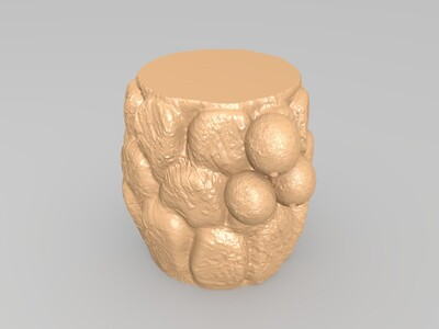 椰子树-3d打印模型
