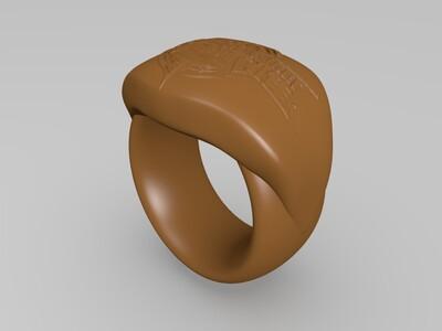 王者荣耀戒指-3d打印模型