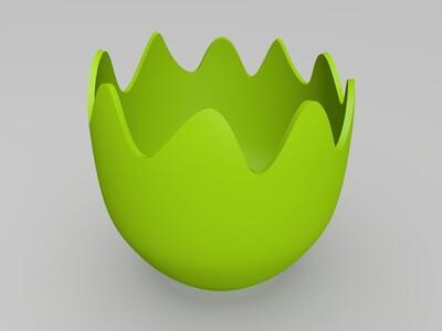 复活节小鸡-3d打印模型