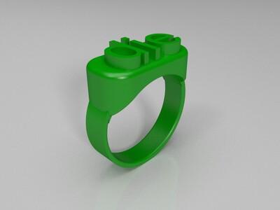 死亡戒指-3d打印模型