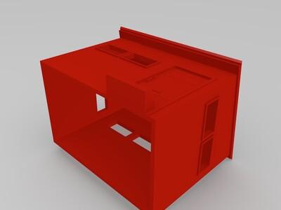 吃鸡厕所-3d打印模型